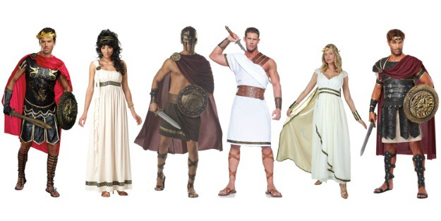Greek Costumes for Groups