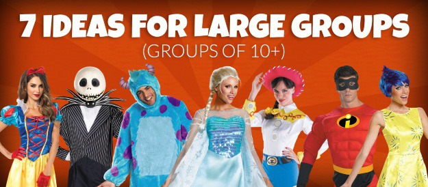 halloween costumes for large groups