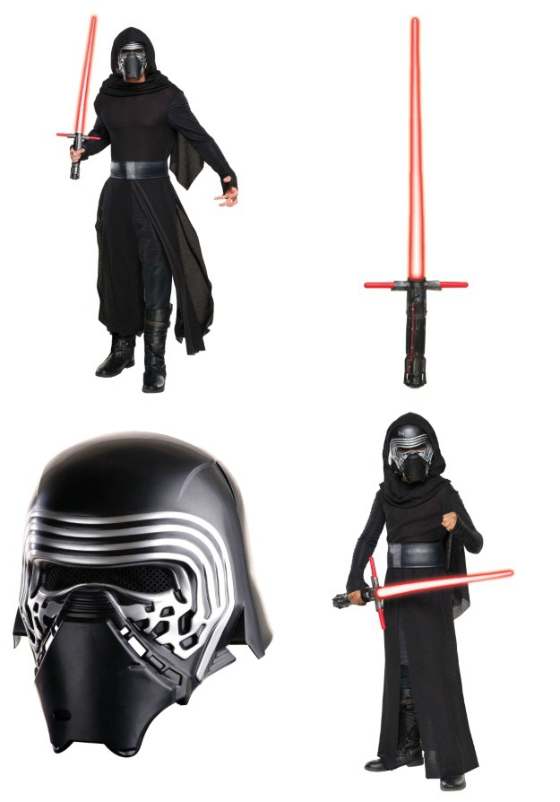 Kylo Ren Costume Collage