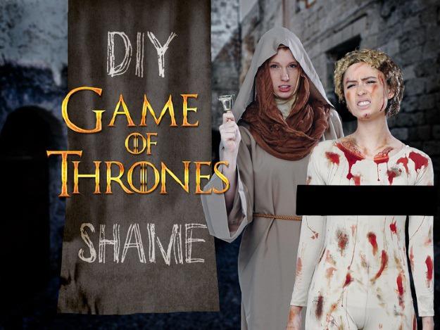 Game of Thrones Shame Costume DIY