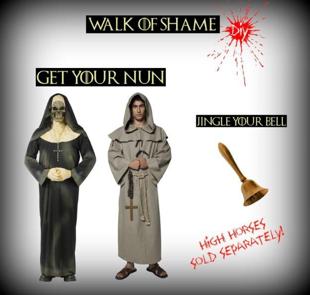 DIY Shame Nun Costume