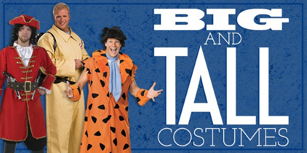Big and tall costume ideas for men  sc 1 st  Halloween Costumes & Big and Tall Costume Ideas for Men - Halloween Costumes Blog