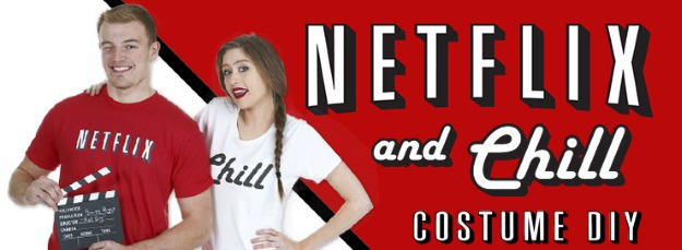 DIY Netflix and Chill Costume