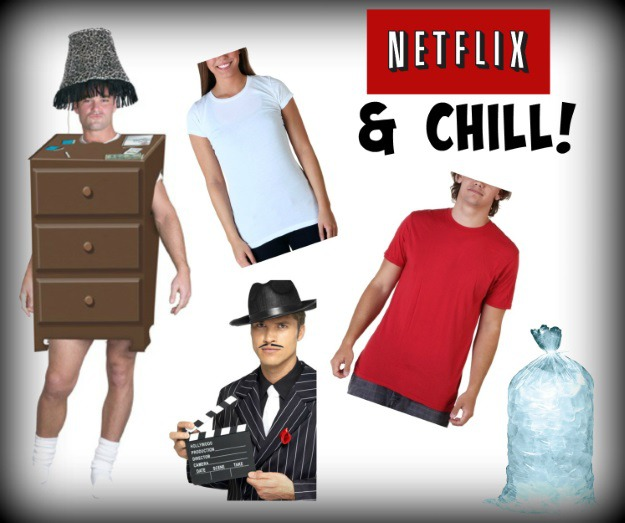How to make a Netflix and Chill costume