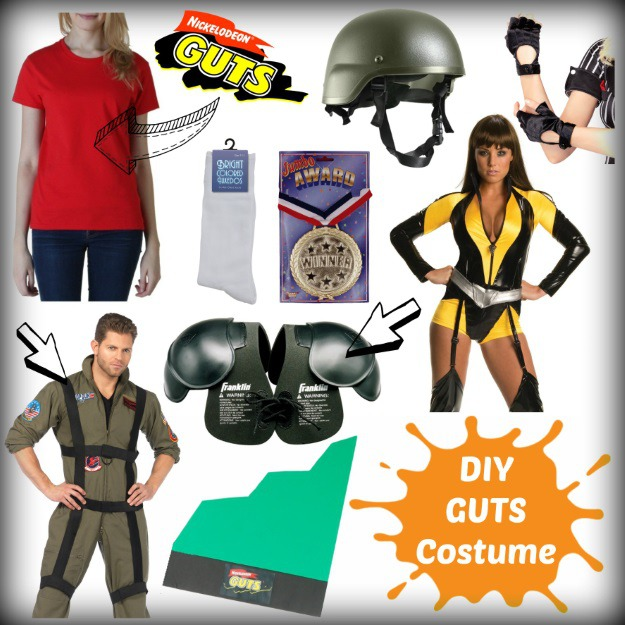 How to make a Nickelodeon GUTS costume