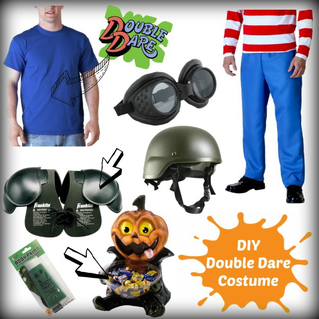 How to dress like a Double Dare contestant for Halloween  sc 1 st  Halloween Costumes & DIY 90s Nickelodeon Game Show Costumes - Halloween Costumes Blog