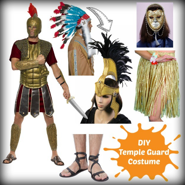 Temple Guard Legends of the Hidden Temple Costume DIY