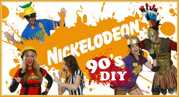 diy 90s nickelodeon game show costumes halloween