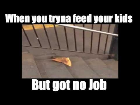 Pizza Rat No Job Meme