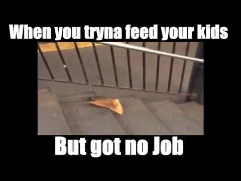 Pizza Rat No Job Meme