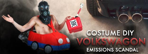 Volkswagen Emissions Scandal Costume