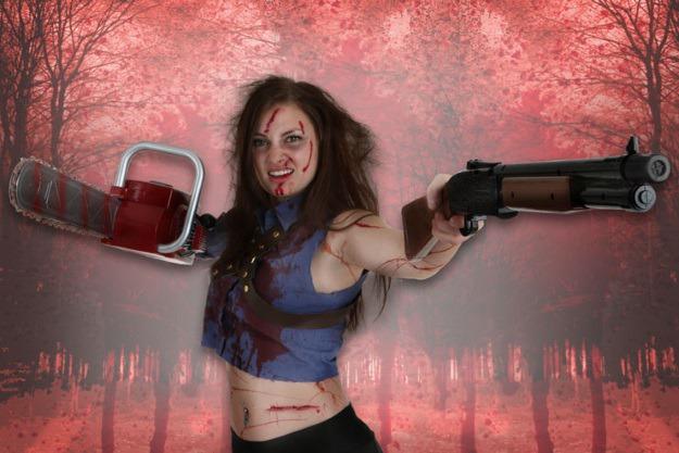 Female Evil Dead Ash Cosplay