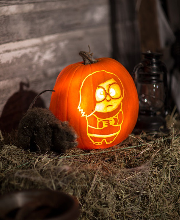 Inside Out pumpkin