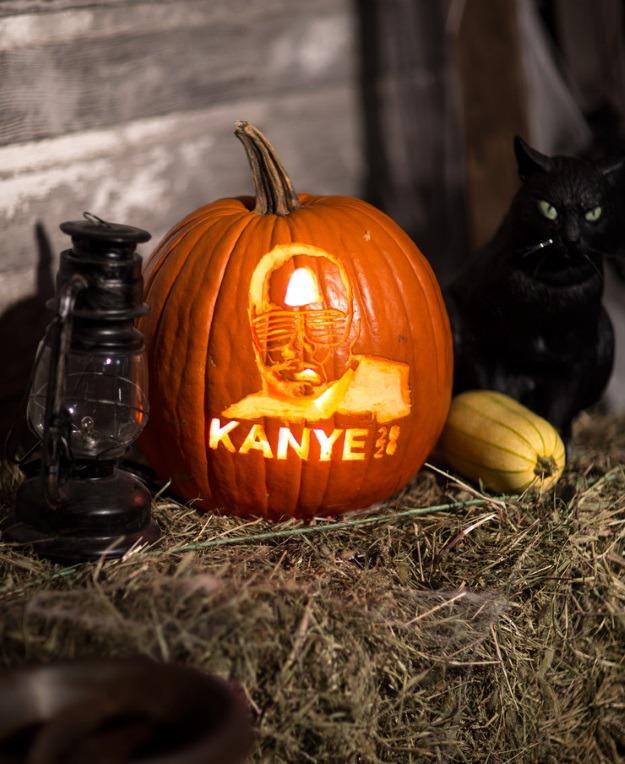 Kanye 2020 pumpkin