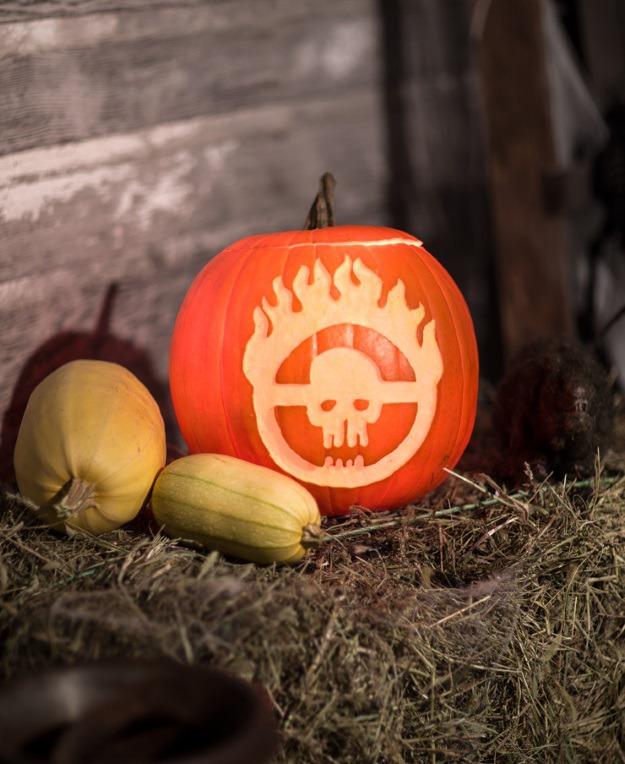 Mad Max pumpkin