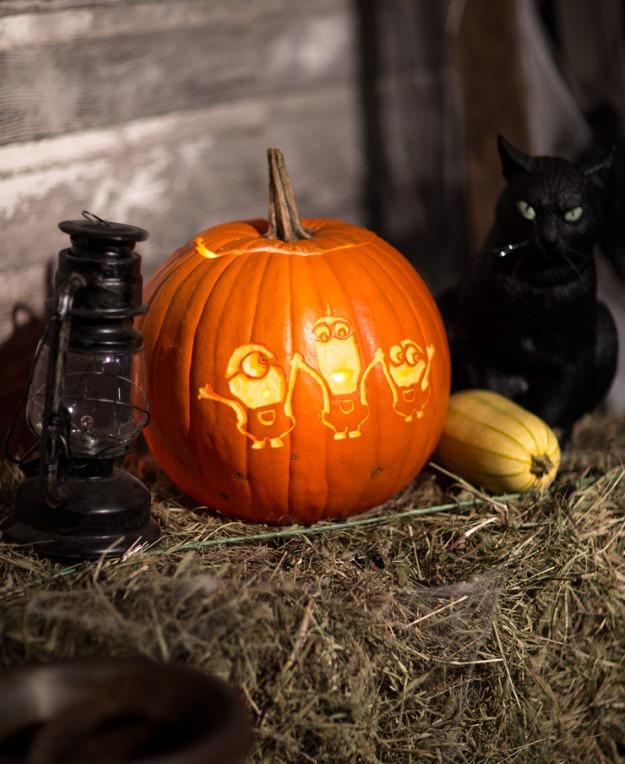 Minions pumpkin