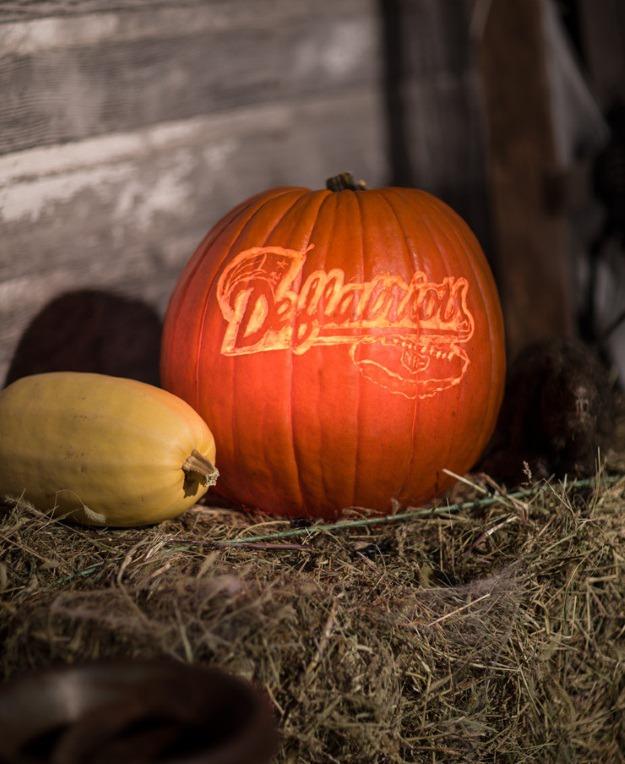 Deflatriots pumpkin