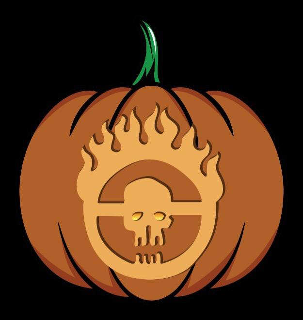 madmax pumpkin stencil