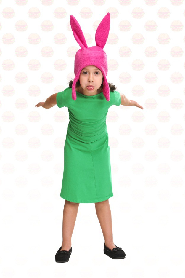 diy louise belcher costume