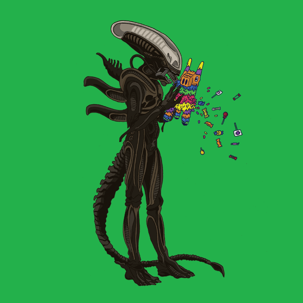 Alien Xenomorph  sc 1 st  Halloween Costumes & The Banality of Evil: An Art Series - Halloween Costumes Blog