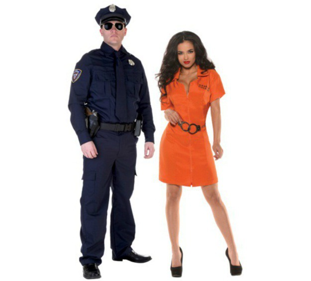 Classic Couples Halloween Costume Ideas - Halloween .  sc 1 st  jokohok & Cop And Prisoner Halloween Costumes