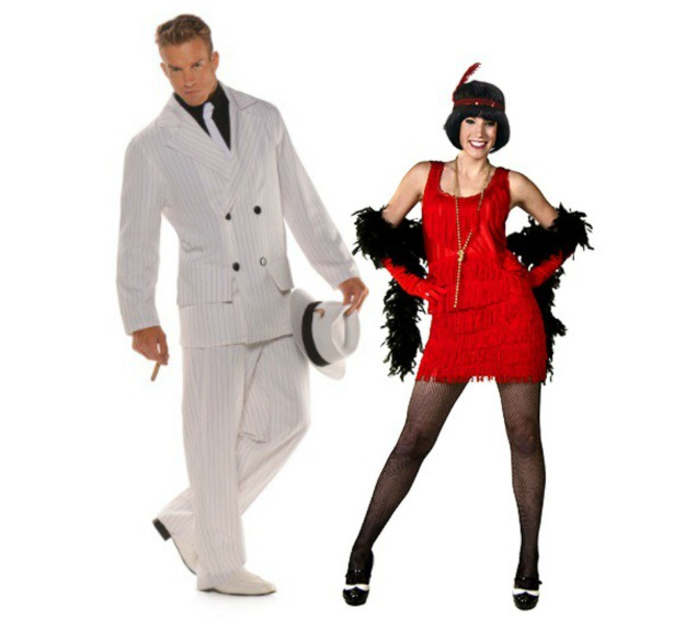 Gangster u0026 Flapper Girl. 20s Couple Costume.jpg  sc 1 st  Halloween Costumes & Classic Couples Halloween Costume Ideas - Halloween Costumes Blog