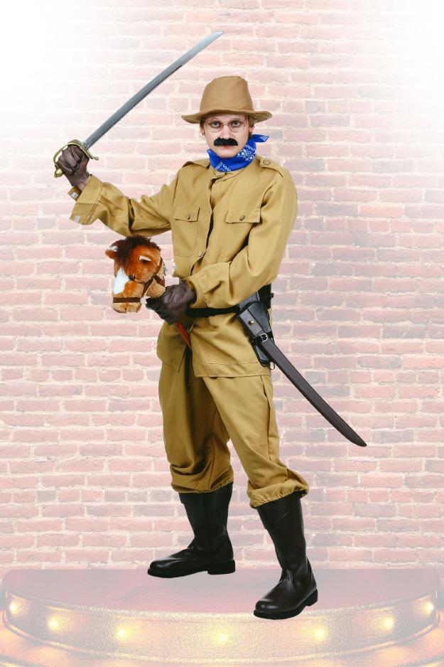 Theodore Roosevelt DIY Costume