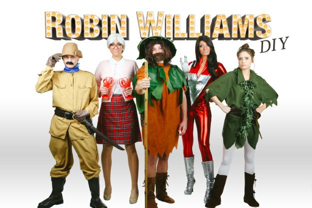 Robin williams tribute group costume diy halloween costumes blog solutioingenieria Gallery