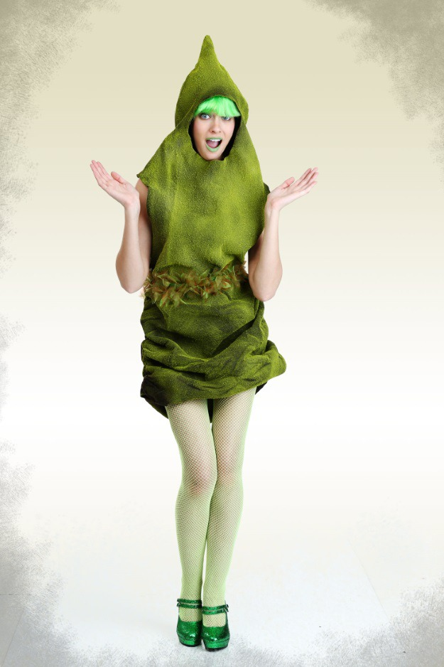 sexy green poop costume - Green Halloween Dress