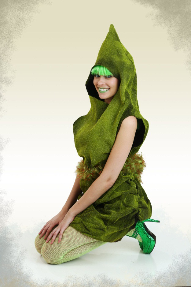 burger king green poop halloween costume - Green Halloween Dress