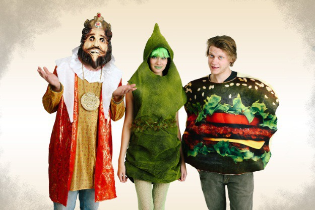 Burger King Green Poop Group Halloween Costume Idea