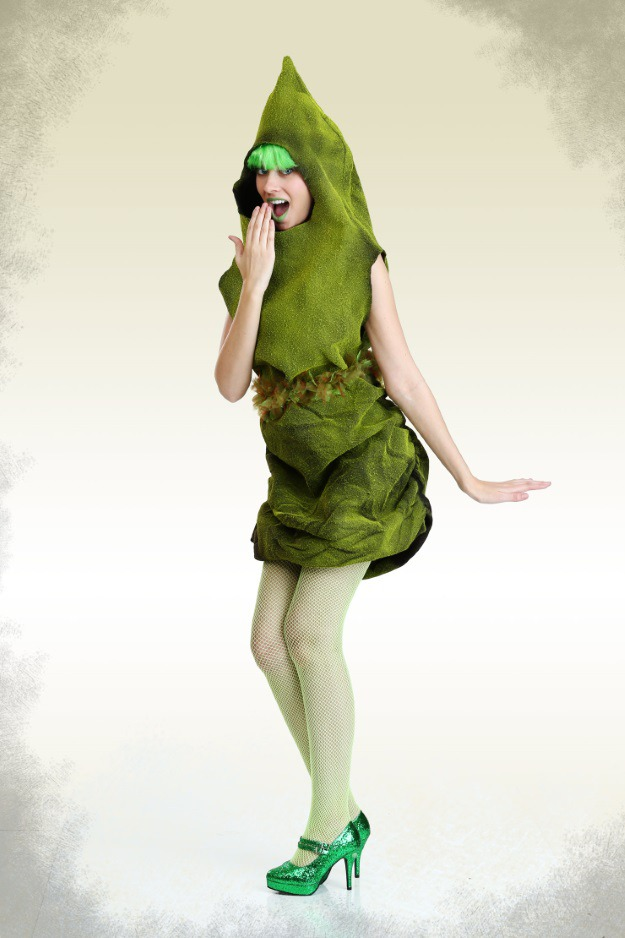 How to make a sexy green poop costume