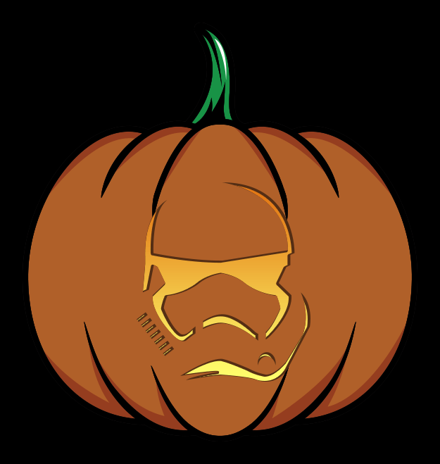 Star Wars: The Force Awakens Pumpkin Patterns [Printables