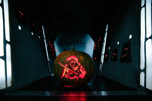 Star Wars The Force Awakens Pumpkin Patterns Printables