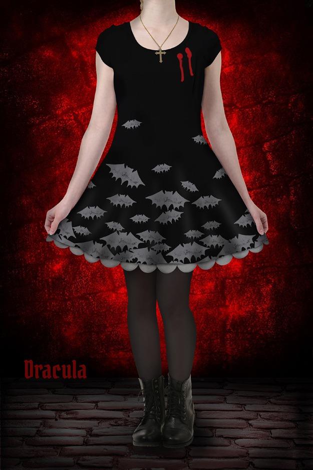 Dracula Skater Dress