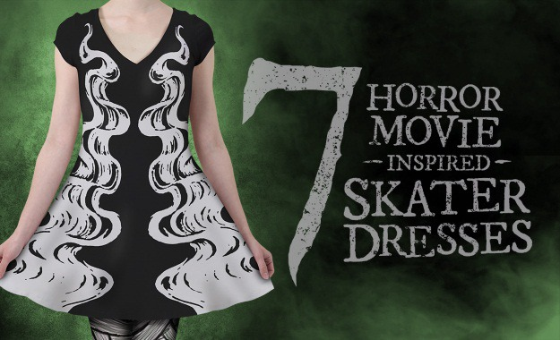 Horror Movie Skater Dresses