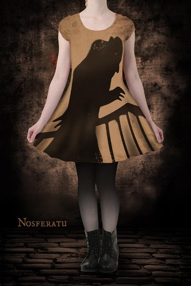 Nosferatu Skater Dress