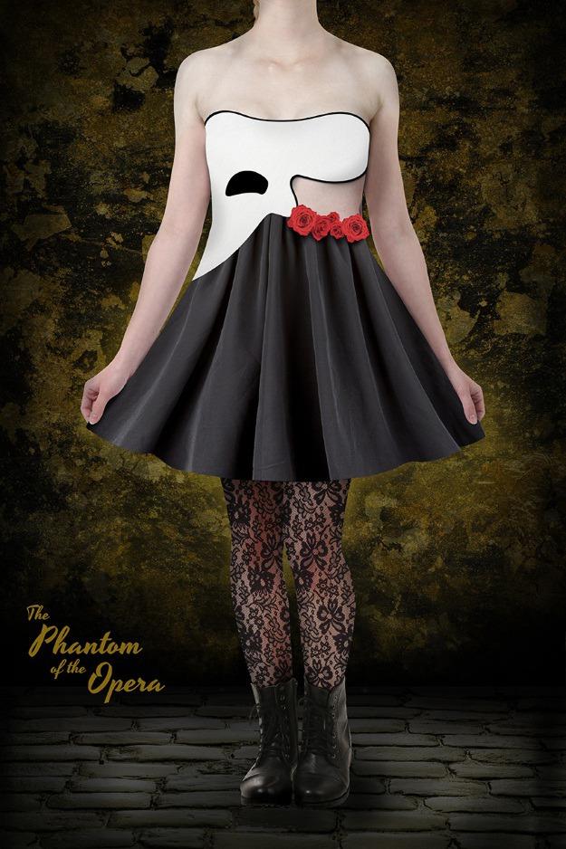 The Phantom of the Opera Skater Dress