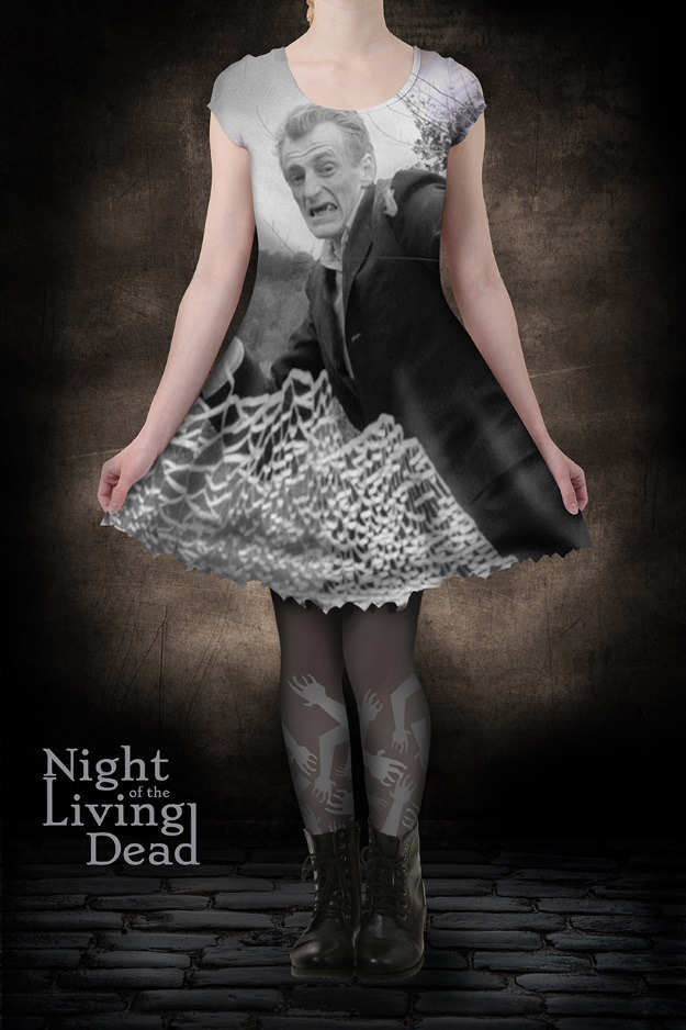 Night of the Living Dead Skater Dress