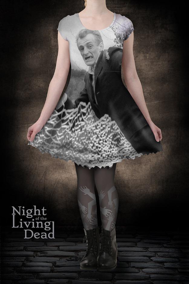 Night of the Living Dead Skater Dress