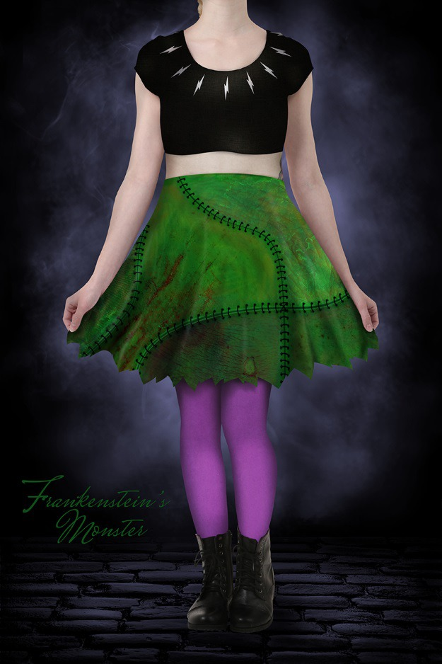 Frankenstein Skater Dress