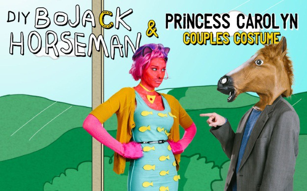 Bojack Horseman and Princess Carolyn Couples Costume DIY