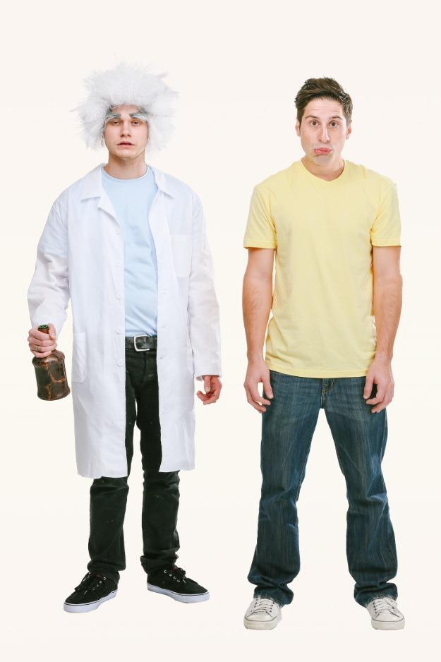 Rick and Morty Costume DIY