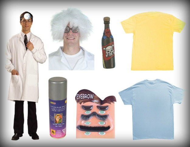 Rick and Morty Products Used for Halloween costume