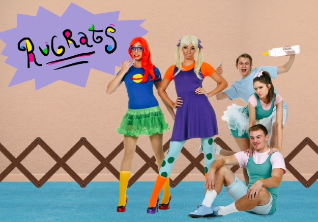 diy rugrats group costumes halloween costumes blog
