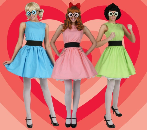 Officially licensed Powerpuff Girls Costumes