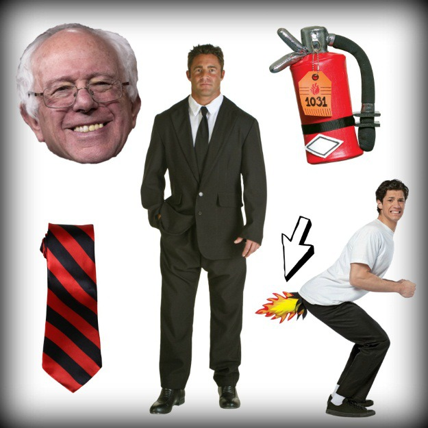 Products needed for Bernie Sanders feel the bern costume