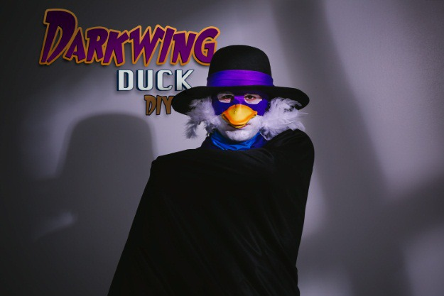 Darkwing Duck Halloween Costume DIY