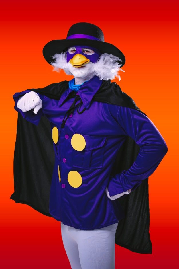 Darkwing Duck Costume Close Up