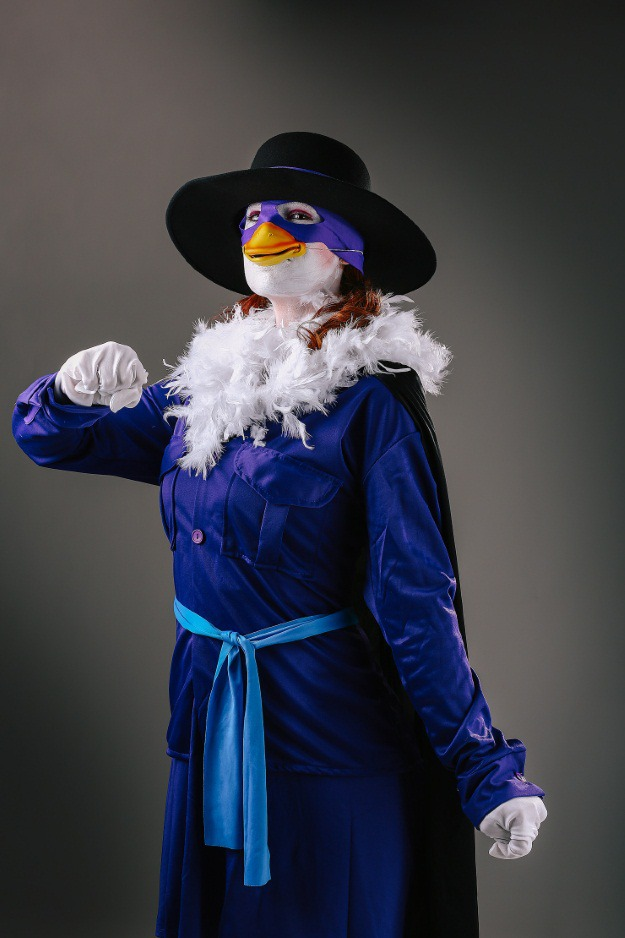 Darkwing Duck Womens Halloween Costume Idea